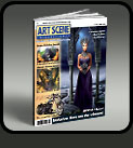 art scene cover illustartion j. warda