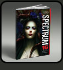 bookcover spectrum 16 - warda art illustrator fantasy artist